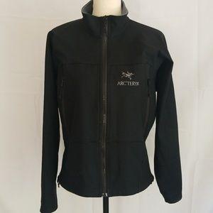 ARC'TERYX black FREECE Lined Polortec Zip Jacket
